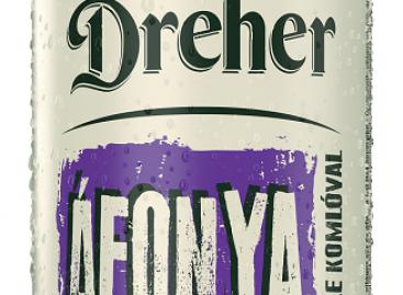 Új ízesített sörrel készül a nyárra a Dreher