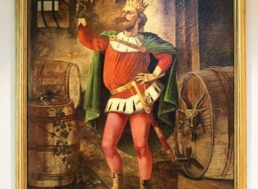 A magyar sörfőzés legendás múltjáról tanúskodik a Dreher Sörmúzeum által restauráltatott festmény