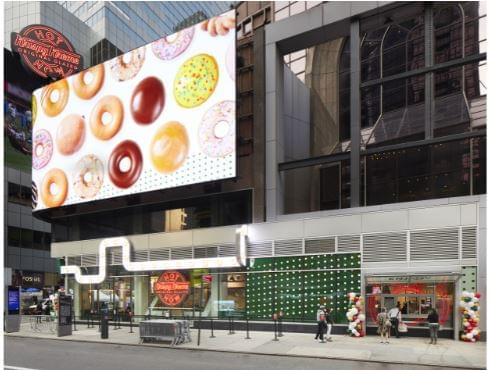 Krispy Kreme Flagship NY