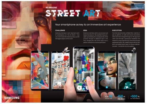 Samsung StreetARt
