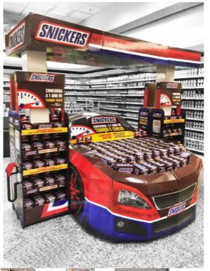 Snickers kamion