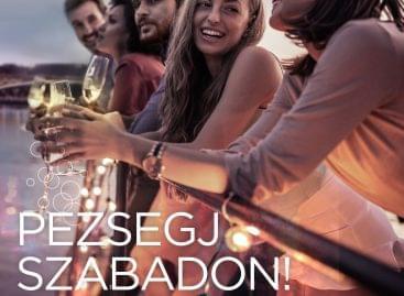 HNT-kampány a pezsgőfogyasztás népszerűsítése