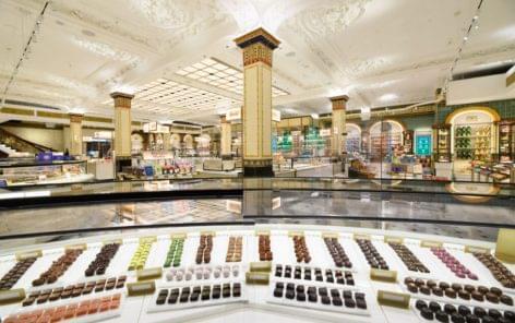 Harrods celebrates 150 years of chocolate