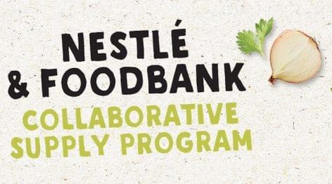 Az Élelmiszerbanknak gyárt terméket a Nestlé