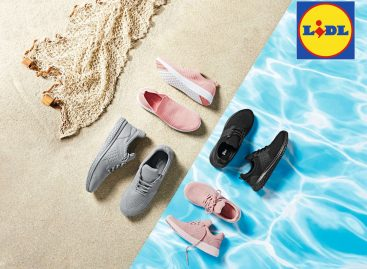 Lidl offers shoes made of used PET bottles