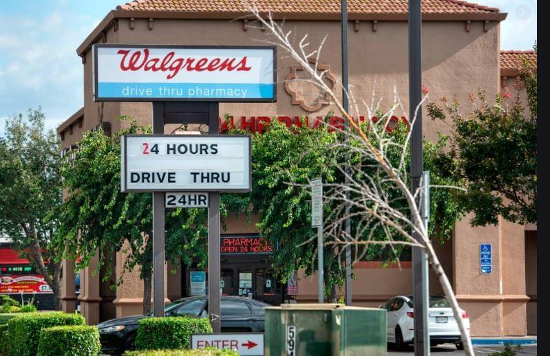 Walgreens drive-thru