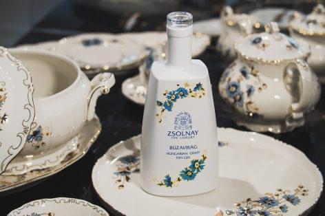 (HU) Egy magyar gin közreműködésével fiatalodik a Zsolnay Porcelánmanufaktúra márka
