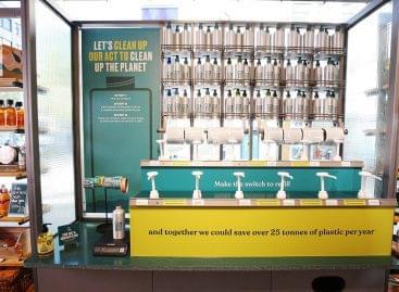 Világszerte utántöltő állomásokat hoz létre a The Body Shop