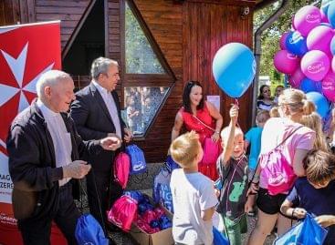 Egy évig ellátja higiéniai papírtermékkel a Magyar Máltai Szeretetszolgálat esélyteremtő gyermek programjait a Vajda-Papír