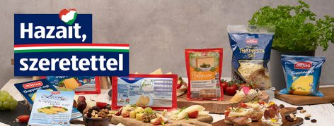 Milk and Trappist cheese: only from Hungarian sources in ALDI