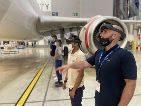 A magyar techcég új partnere a Közel-Kelet egyik vezető légi-karbantartó vállalata, a VD Gulf