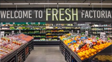 Just Walk Out shopping at Amazon Fresh store