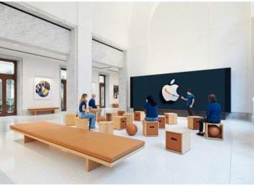 Római palotában Európa legnagyobb Apple boltja