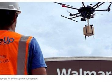 A Walmart befektet a DroneUp cégbe