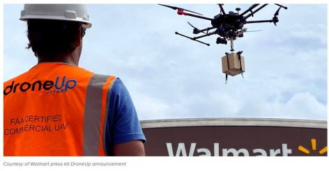 Walmart Invests in DroneUp