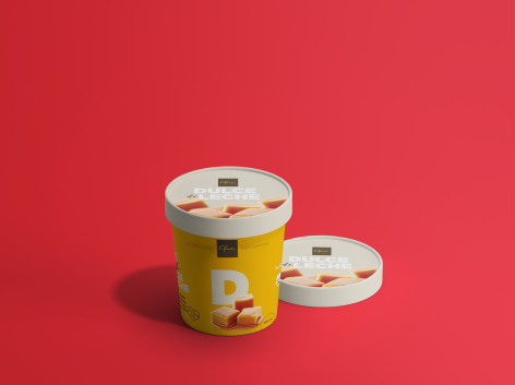 Camila Maschietto designed the stunning cartons for Ofner Gelato that bring the flavors to life – Picture of the day