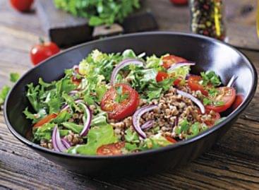 Salátákkal a plusz kilók ellen