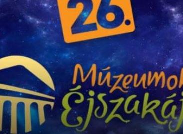 MKVM-programok a Múzeumok Éjszakáján