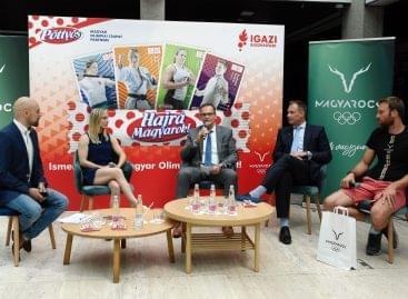 Az olimpiára készülő magyar sportolókért kampányol a MOB és a Pöttyös
