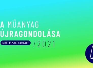 Magyar Greentech Startupok a műanyag újragondolásáért – Indul a Startup Plastic Surgery program 2021-es kiadása
