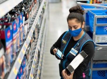 Me@Walmart dolgozói alkalmazás és okostelefon