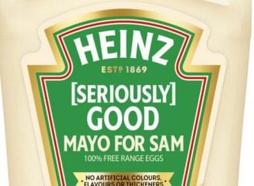 Új, limitált Mayo For Sam-flakon a Heinztől