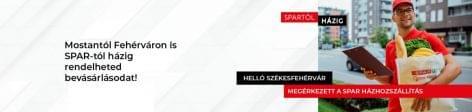 SPAR's home delivery service is now available in Székesfehérvár