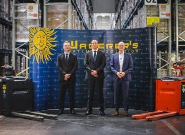 Waberer's: 2,6 millió € összértékű targonca-beruházása