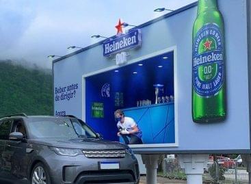 Pop-up sörbár az út mentén, autósoknak – A nap képe