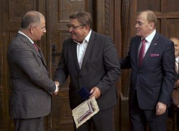 Szövetkezeti Érdemrend elismerést kapott Tóth László, az Unió Coop vezérigazgatója