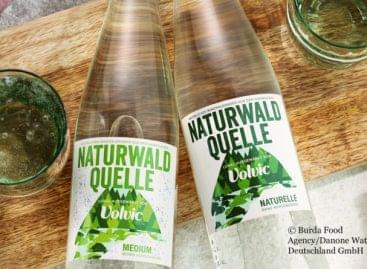 Visszaváltható üvegek a Danone-tól