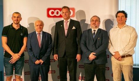 Újabb olimpiai ciklusban folytatódik a COOP és a MOB együttműködése