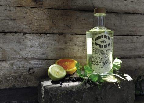 Hopped craft gin
