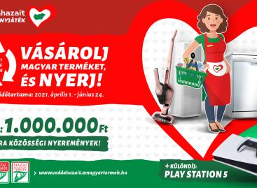 (HU) Sikeresen lezajlott a 11. Magyar Termék védjegyeket népszerűsítő promóció