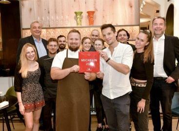 Átvették az elismeréseiket a legújabb budapesti MICHELIN-csillagos éttermek