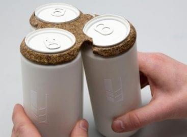 (HU) Biológilag lebomló sörösdoboz-csomagolás – A nap képe