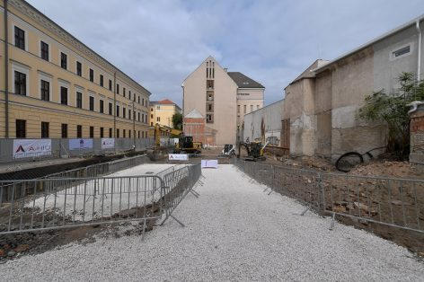 The cornerstone of a four-star hotel was laid in Debrecen