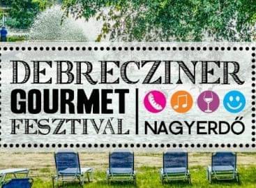 Megkezdődött az 5. Debrecziner Gourmet fesztivál a debreceni Nagyerdőben