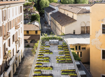 Fold-out urban garden concept brings nature to the smallest of spaces