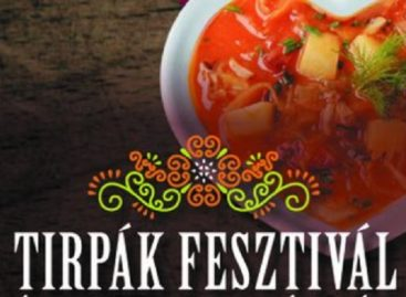 A város sütijét is elkészítik a hétvégi Tirpák Fesztiválon