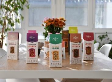 Már napi húszezer csomaggal tudják gyártani a különleges,  magyar granolákat