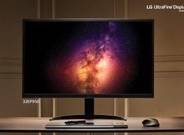 Már itthon is kapható az LG első OLED paneles monitora
