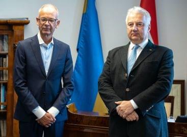 Magasrangú magyar állami kitüntetést kapott Heimo Scheuch, a Wienerberger konszern első embere