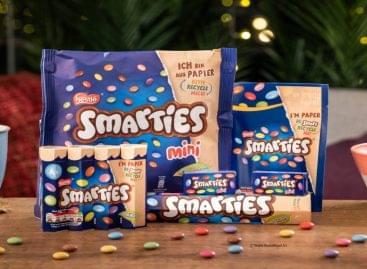 Fenntartható díjat nyert a Nestlé a Smarties-zel