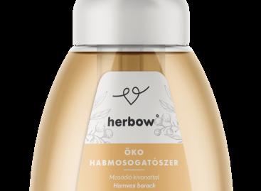 Herbow ÖKO habmosogatószer300 mlmosódió-kivonattal – barackillattal