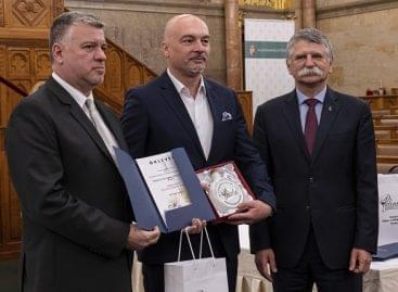 The prizes of the National Pálinka and Törkölypálinka competition were presented