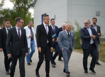 Szentkirályi Hungary expands its production capacity: the foundation stone of the investment with a total value of nearly HUF 1 billion has been laid