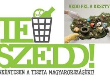 ITM Secretary of State: the volunteers of the TeSzedd! action collected thousands of tons of garbage